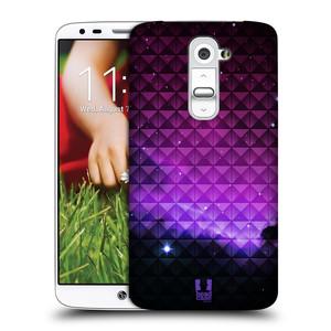 Plastové pouzdro na mobil LG G2 HEAD CASE PURPLE HAZE