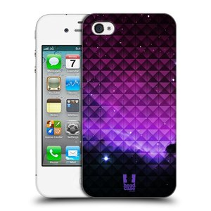 Plastové pouzdro na mobil Apple iPhone 4 a 4S HEAD CASE PURPLE HAZE