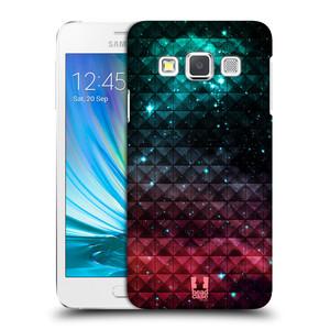 Plastové pouzdro na mobil Samsung Galaxy A3 HEAD CASE OMBRE SPARKLE