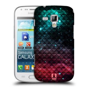 Plastové pouzdro na mobil Samsung Galaxy S Duos HEAD CASE OMBRE SPARKLE