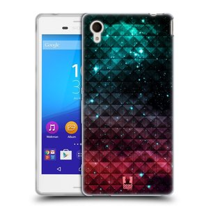 Silikonové pouzdro na mobil Sony Xperia M4 Aqua E2303 HEAD CASE OMBRE SPARKLE