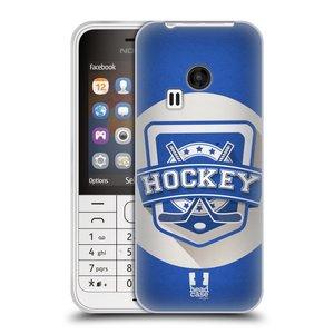 Silikonové pouzdro na mobil Nokia 220 HEAD CASE HOKEJ