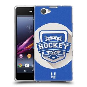 Silikonové pouzdro na mobil Sony Xperia Z1 Compact D5503 HEAD CASE HOKEJ