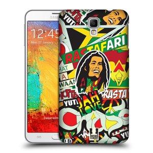 Plastové pouzdro na mobil Samsung Galaxy Note 3 Neo HEAD CASE RASTA