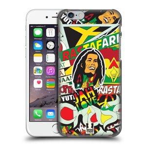 Plastové pouzdro na mobil Apple iPhone 6 a 6S HEAD CASE RASTA