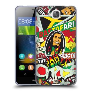 Silikonové pouzdro na mobil Huawei Y6 Pro Dual Sim HEAD CASE RASTA