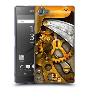 Silikonové pouzdro na mobil Sony Xperia Z5 Compact HEAD CASE STEAMPUNK KOLEČKA