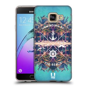 Silikonové pouzdro na mobil Samsung Galaxy A3 (2016) HEAD CASE Bezvětří