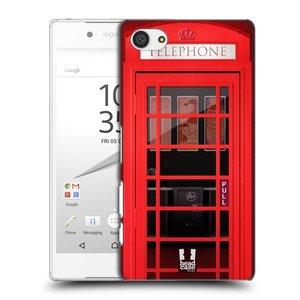Plastové pouzdro na mobil Sony Xperia Z5 Compact HEAD CASE TELEFONNÍ BUDKA