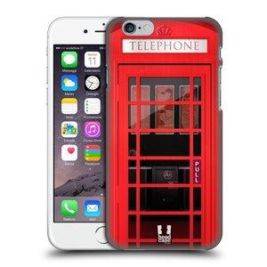 Plastové pouzdro na mobil Apple iPhone 6 a 6S HEAD CASE TELEFONNÍ BUDKA
