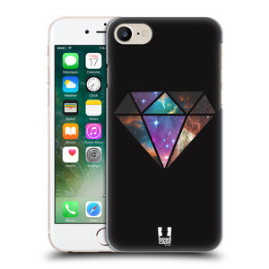 Plastové pouzdro na mobil Apple iPhone 7 HEAD CASE MIX DIAMANT