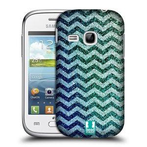 Plastové pouzdro na mobil Samsung Galaxy Young HEAD CASE MIX CHEVRON