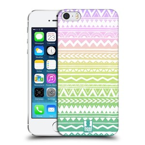 Plastové pouzdro na mobil Apple iPhone SE, 5 a 5S HEAD CASE MIX AZTEC DRAWN