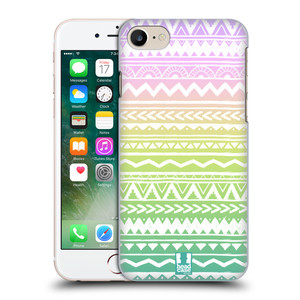Plastové pouzdro na mobil Apple iPhone 7 HEAD CASE MIX AZTEC DRAWN