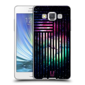 Silikonové pouzdro na mobil Samsung Galaxy A5 HEAD CASE MIX NEBULA STRIPES