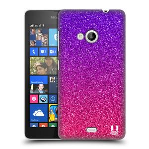 Plastové pouzdro na mobil Microsoft Lumia 535 HEAD CASE MIX PINK