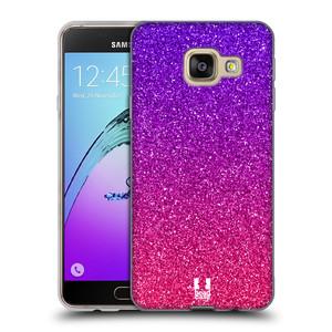 Silikonové pouzdro na mobil Samsung Galaxy A3 (2016) HEAD CASE MIX PINK