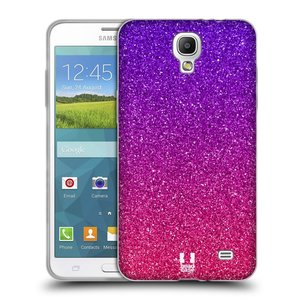 Silikonové pouzdro na mobil Samsung Galaxy Grand Mega 2 HEAD CASE MIX PINK