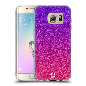 Silikonové pouzdro na mobil Samsung Galaxy S7 Edge HEAD CASE MIX PINK