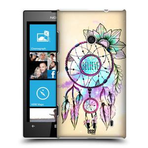 Plastové pouzdro na mobil Nokia Lumia 520 HEAD CASE MIX BELIEVE