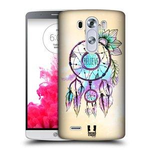 Plastové pouzdro na mobil LG G3 HEAD CASE MIX BELIEVE