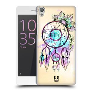Plastové pouzdro na mobil Sony Xperia E5 HEAD CASE MIX BELIEVE