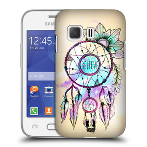 Plastové pouzdro na mobil Samsung Galaxy Young 2 HEAD CASE MIX BELIEVE