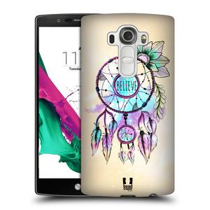 Plastové pouzdro na mobil LG G4 HEAD CASE MIX BELIEVE