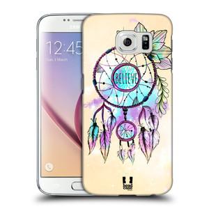 Plastové pouzdro na mobil Samsung Galaxy S6 HEAD CASE MIX BELIEVE
