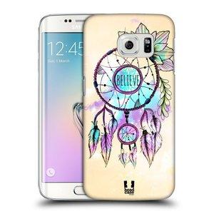 Plastové pouzdro na mobil Samsung Galaxy S6 Edge HEAD CASE MIX BELIEVE