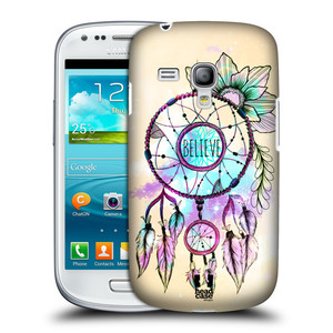 Plastové pouzdro na mobil Samsung Galaxy S3 Mini VE HEAD CASE MIX BELIEVE