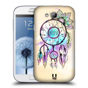 Plastové pouzdro na mobil Samsung Galaxy Grand Neo Plus HEAD CASE MIX BELIEVE