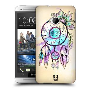 Plastové pouzdro na mobil HTC ONE M7 HEAD CASE MIX BELIEVE