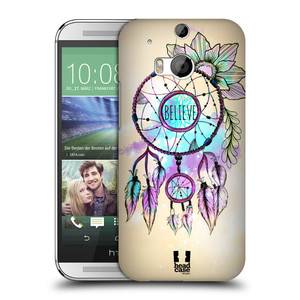 Plastové pouzdro na mobil HTC ONE M8 HEAD CASE MIX BELIEVE
