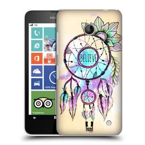 Plastové pouzdro na mobil Nokia Lumia 630 HEAD CASE MIX BELIEVE