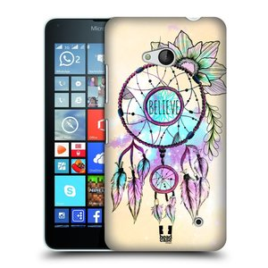 Plastové pouzdro na mobil Microsoft Lumia 640 HEAD CASE MIX BELIEVE