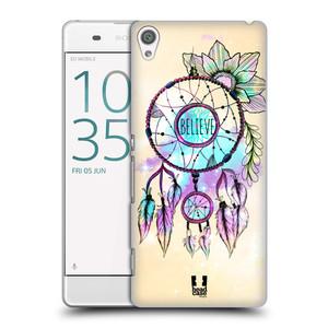 Plastové pouzdro na mobil Sony Xperia XA HEAD CASE MIX BELIEVE