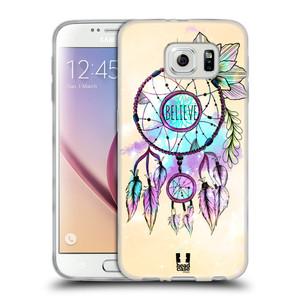 Silikonové pouzdro na mobil Samsung Galaxy S6 HEAD CASE MIX BELIEVE