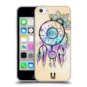 Silikonové pouzdro na mobil Apple iPhone 5C HEAD CASE MIX BELIEVE