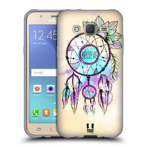 Silikonové pouzdro na mobil Samsung Galaxy J5 HEAD CASE MIX BELIEVE