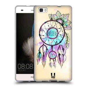 Silikonové pouzdro na mobil Huawei P8 Lite HEAD CASE MIX BELIEVE
