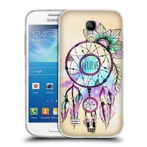 Silikonové pouzdro na mobil Samsung Galaxy S4 Mini HEAD CASE MIX BELIEVE