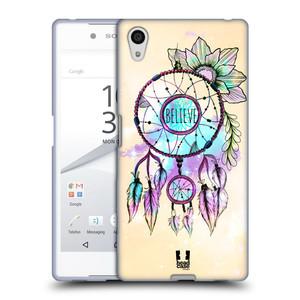 Silikonové pouzdro na mobil Sony Xperia Z5 HEAD CASE MIX BELIEVE