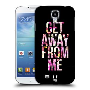 Plastové pouzdro na mobil Samsung Galaxy S4 HEAD CASE MIX GET AWAY