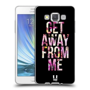 Silikonové pouzdro na mobil Samsung Galaxy A5 HEAD CASE MIX GET AWAY
