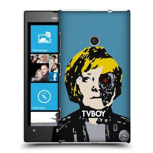 Plastové pouzdro na mobil Nokia Lumia 520 HEAD CASE - TVBOY - Merkenator - Angela Merkelová