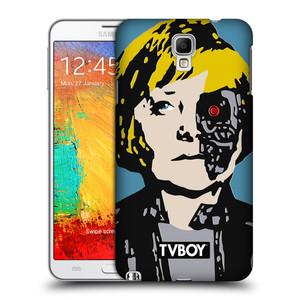 Plastové pouzdro na mobil Samsung Galaxy Note 3 Neo HEAD CASE - TVBOY - Merkenator - Angela Merkelová
