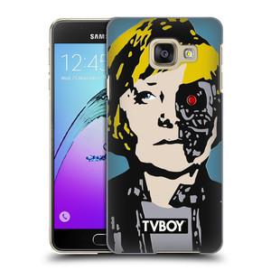 Plastové pouzdro na mobil Samsung Galaxy A3 (2016) HEAD CASE - TVBOY - Merkenator - Angela Merkelová