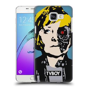 Plastové pouzdro na mobil Samsung Galaxy A5 (2016) HEAD CASE - TVBOY - Merkenator - Angela Merkelová