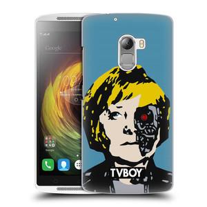 Plastové pouzdro na mobil Lenovo A7010 HEAD CASE - TVBOY - Merkenator - Angela Merkelová